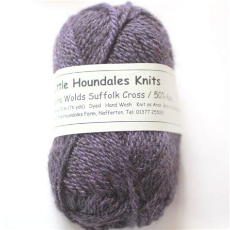houndales knits wolds 50 suffolk x with 50 alpaca