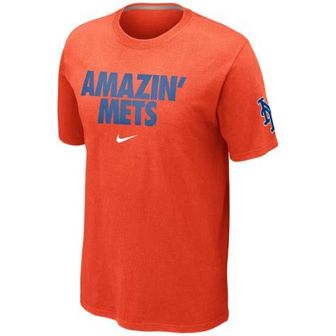 T Shirt Nike Mets nike s sleeve new york mets t shirt in orange
