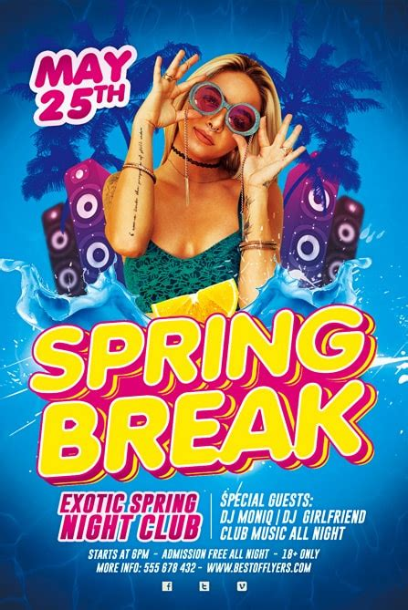 Spring Break Party Free Flyer Template Best Of Flyers Kicks Flyer Template 2