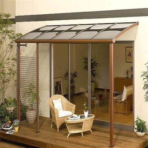 building an awning a patio tettoia terrazzo pergole e tettoie da giardino