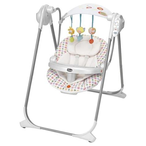 chico baby swing buy chicco polly swing up flower power from our baby