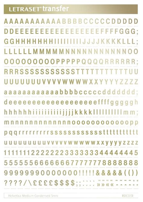 Letter Transfer Sheets Letraset Rub On Transfer Numbers Letters A5 Sheets Mm All Fonts Colours Sizes Ebay