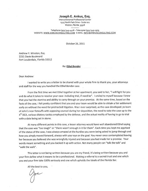 Insurance Letter To Client Florida S Experienced Co Counsel Attorneys Lwm