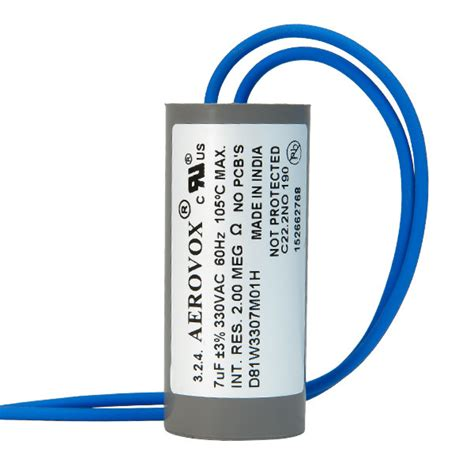 aerovox hid capacitors hid lighting capacitor 330v aerovox d81w3307m01h