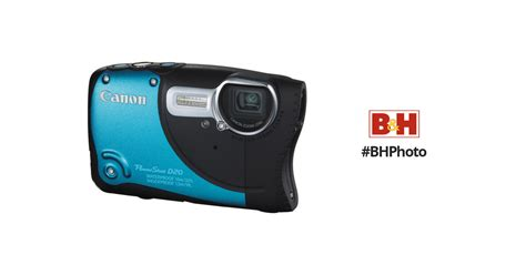 Kamera Underwater Canon D20 canon powershot d20 waterproof digital blue 6145b001