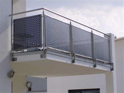 gel nder f r terrasse besten balkonverkleidung edelstahl gestaltung ideen