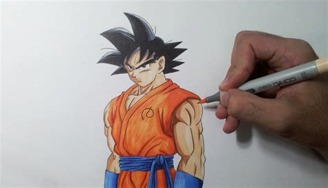 Goku Resurrection F drawing goku resurrection f fukkatsu no f
