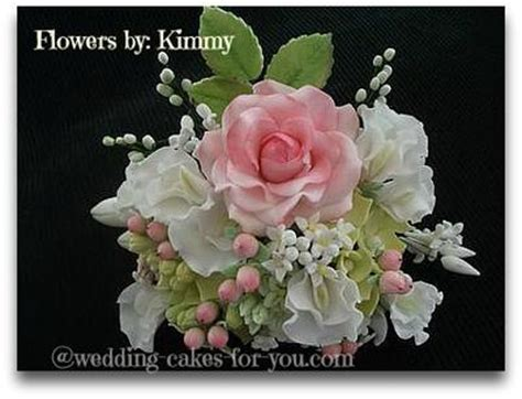 Handmade Sugar Flowers - cake dummies and sugar flowers