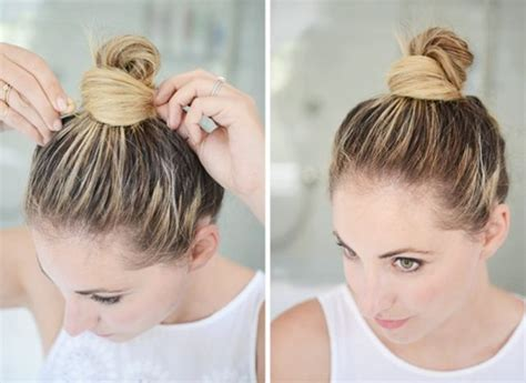 3 buns for any length without added hair 7 cool and easy buns that work for short hair byrdie