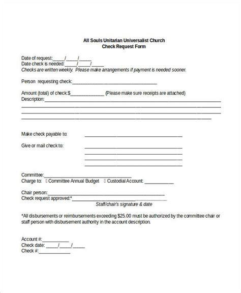 check request form   word  documents