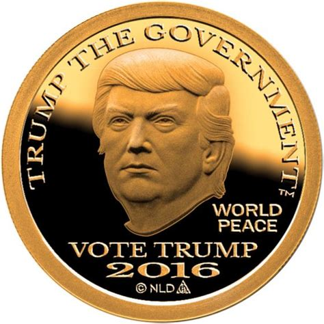 donald trump gold coin donald trump jr on twitter quot breaking news vp pick is