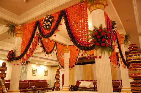 indian wedding home decoration flower decoration tips to hire the best wedding okay wedding planning site bangalore