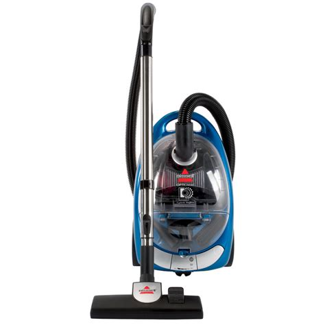 to vacuum shop bissell bagless canister vacuum at lowes com