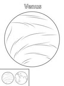 Venus Coloring Pages printable pictures of planet venus pics about space