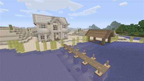how to build a beach house in minecraft minecraft how to build modern beach house ep 1 xbox