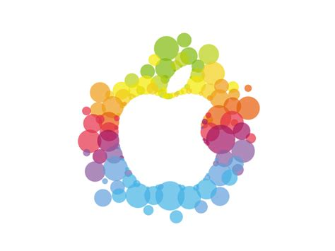 fruit typing apple on flipboard