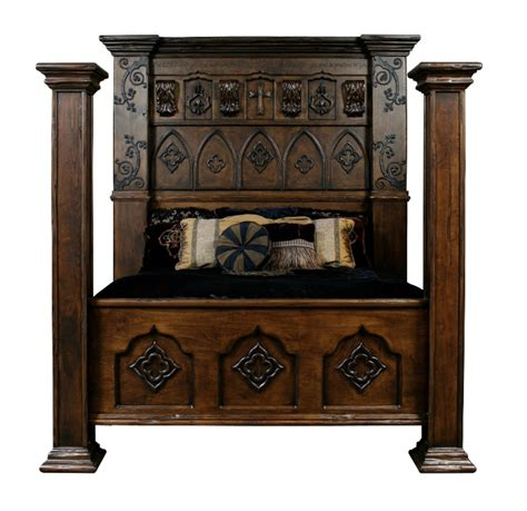 gothic bedroom set custom made gothic high style bed high end bedroom set