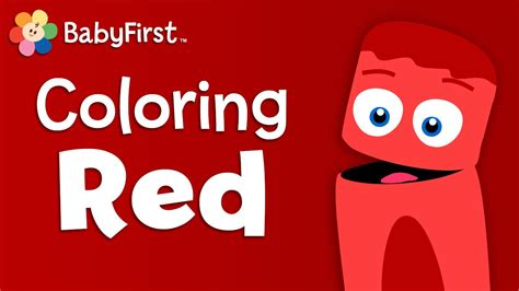 red is the color of the day children s song red colors tomatoes apples and strawberries red learn the color