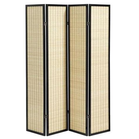 room dividers home depot home decorators collection bamboo room divider discontinued 5852120210 the home depot