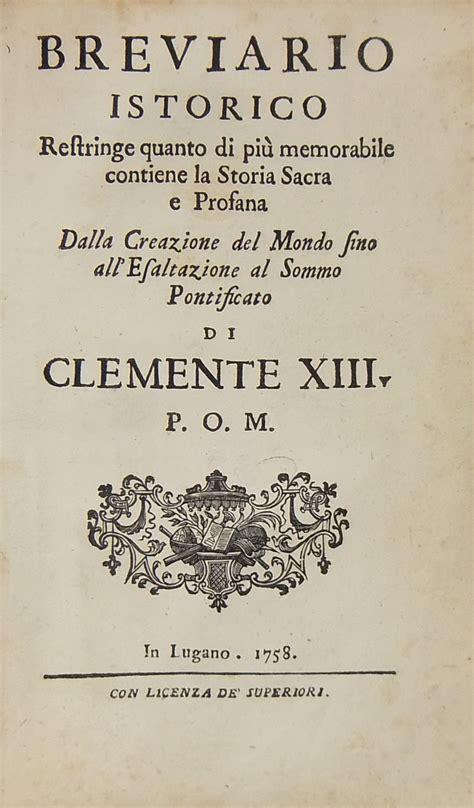 libreria antiquaria giulio cesare breviario istorico libreria antiquaria giulio cesare