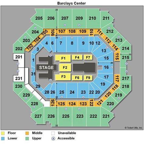 barclays center seating chart rihanna tickets barclays may 4th may 5th discounted