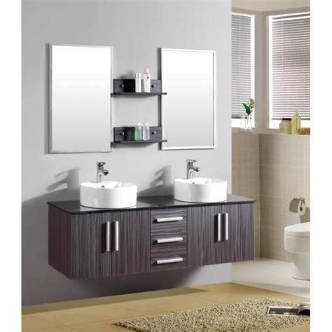 mobili arredo bagno arredo bagno moderno smeraldo2 con doppio lavabo pd