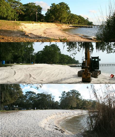 public boat launch fairhope al fairhope dealing with beach erosion at city parks