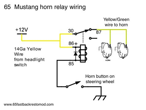 1966 mustang headlight wiring diagram 1966 mustang 289