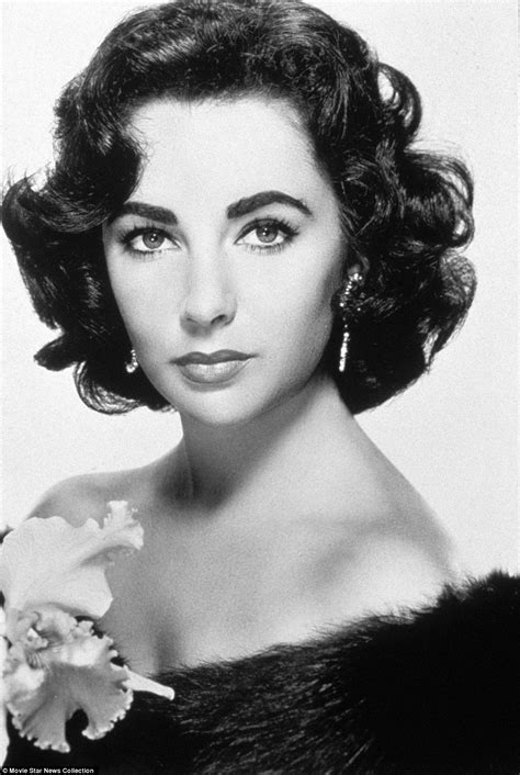 the gorgeous young elizabeth taylor