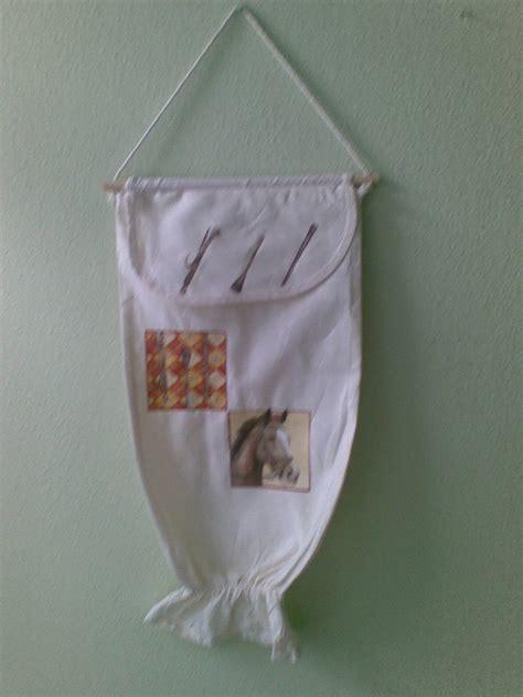 porta sacchetti stoffa porta sacchetti in stoffa di cotone 100 per la casa e