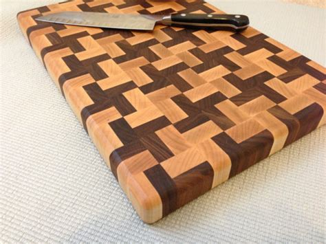 cutting board designs handmade butcher block cross design end grain by