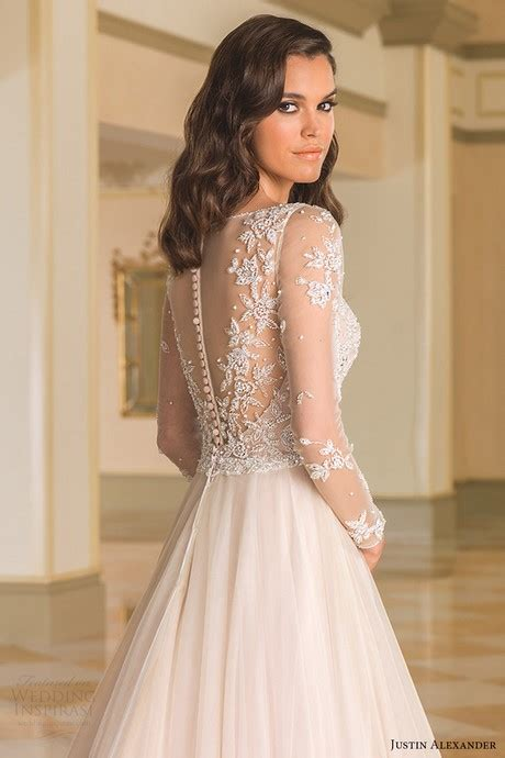 D1787d Sabrina Layer Split Dress justin wedding dresses 2017