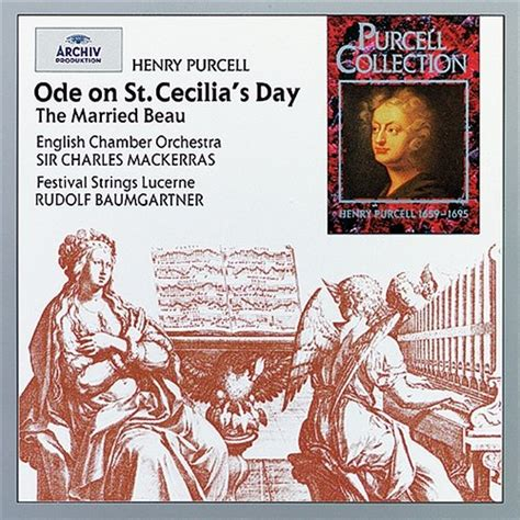 Cd Import Sir Charles Mackerras Orchestra Of St Luke Handel Water M purcell ode on st cecilia s day the married beau festival strings lucerne muzyka mp3