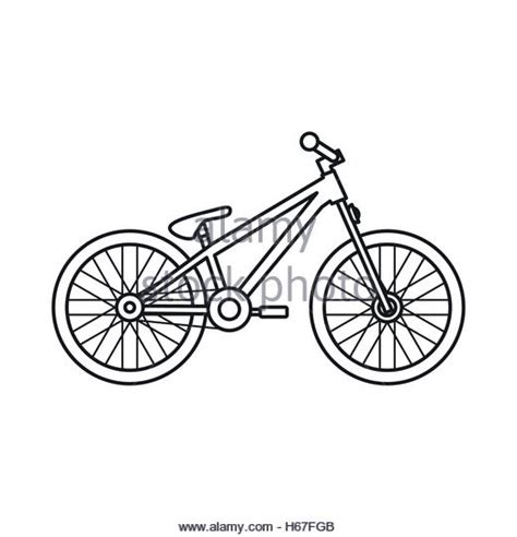 Road Bicycle Outline by Bicycle Icon Outline Style Stock Photos Bicycle Icon Outline Style Stock Images Alamy