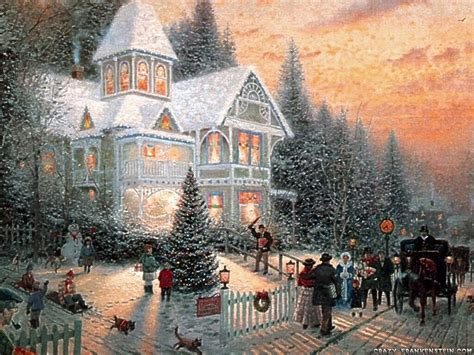 Exceptional Old Fashioned Christmas Lights For Sale #1: Christmas-scene-near-house-1600x1200.jpg