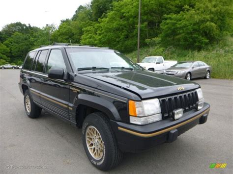 1995 black jeep grand limited 4x4 81770142 gtcarlot car color galleries