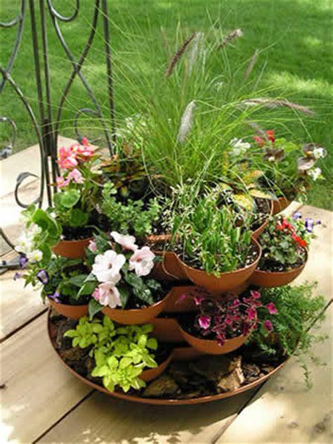 garden stacker planter indoor herbal tea herb garden kit stacking deck planter with flowers contemporary indoor