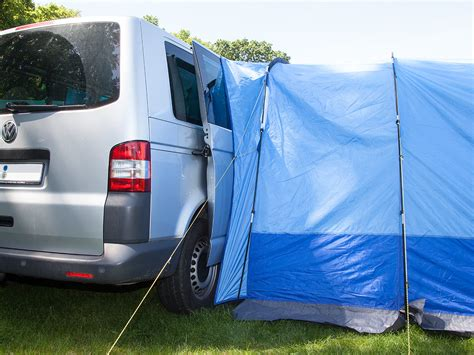 van tent awning skandika aarhus travel mini van awning tent camping 2 person man blue new ebay