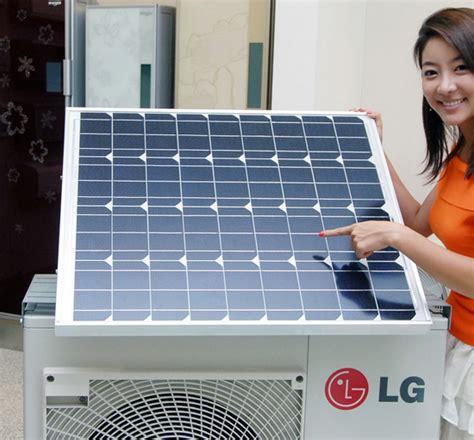 Ac Sharp Eco lg electronics solar hybrid air conditioner