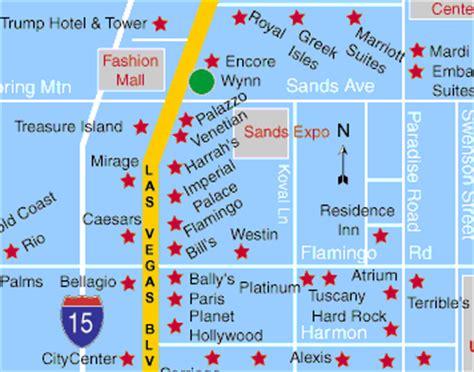 las vegas casino map las vegas hotel las vegas