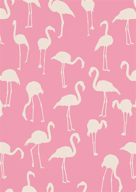 Flamingo Wallpaper Pattern | made by marcia 187 pattern