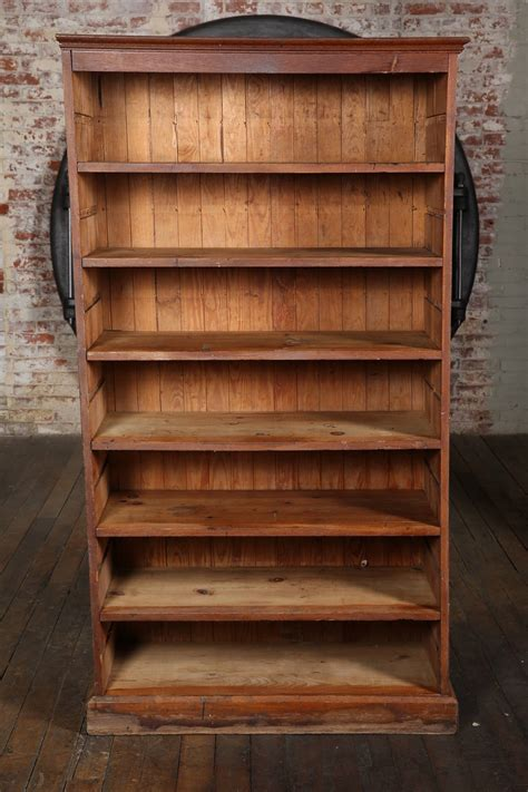 vintage wooden bookcase for sale at 1stdibs