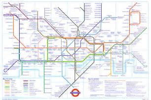 rail map underground map