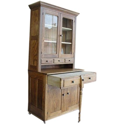 kitchen bakers cabinet 1900 oak 2 bakers kitchen cabinet with pull out work surface from breadandbutter on ruby