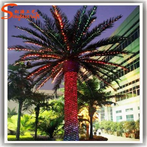 china wholesale artificial outdoor palm trees manufacturer