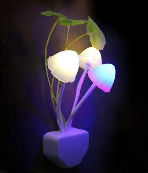 Lu Tidur Jamur Avatar Bunga Sensor Cahaya jual jual lu tidur sensor cahaya avatar lu jamur led