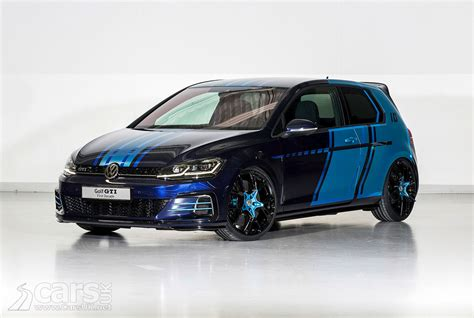 gulf car volkswagen golf gti decade is a 404bhp hybrid golf