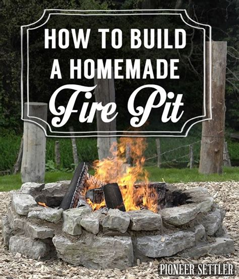 How To Build A Gas Pit In Your Backyard by Best 25 Outside Pits Ideas On Pits