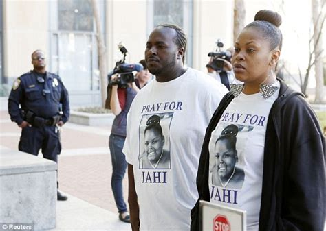 Devastated jahi s parents fought to keep their 13 year old daughter
