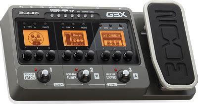 Harga Efek Gitar Zoom G3 fitur yang dimiliki multi efek gitar zoom g3x yowisband